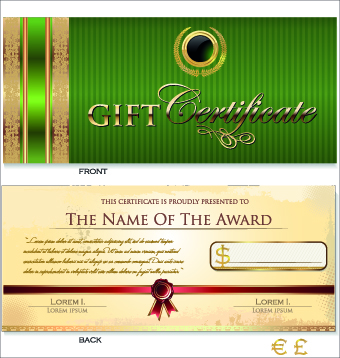 Creative gift certificate template vector 01 vector card free creative gift certificate template vector 01 yadclub Gallery