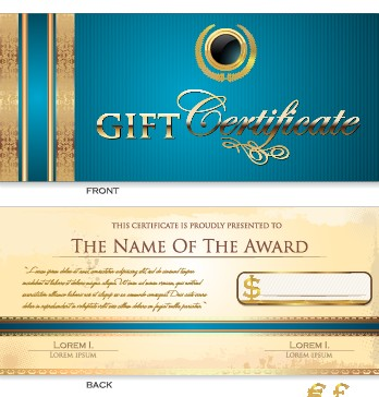 Creative gift certificate template vector 02 vector card free creative gift certificate template vector 02 yadclub Images