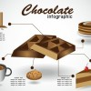 Creative food infographics elements vector 02