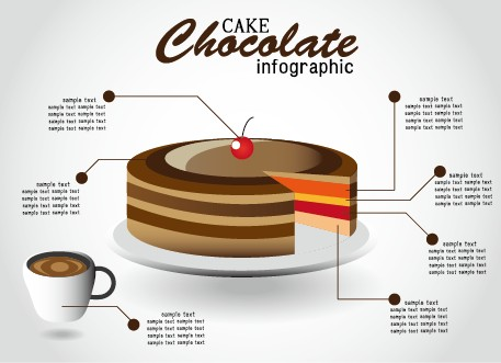 Creative food infographics elements vector 03 - Vector Business ...