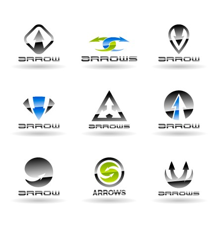 modern logos creative design vector set 05 - Modern Logos Design Ideas