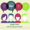 People icons and speech bubbles vector 05