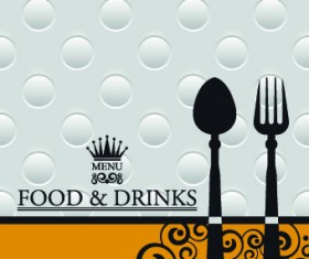 Creative restaurant menu covers vector graphic 02