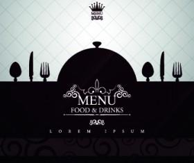 Creative restaurant menu covers vector graphic 03