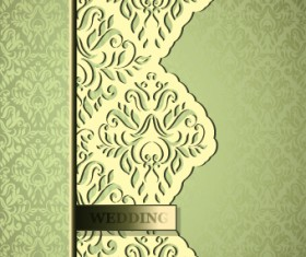 Vintage decorative pattern restaurant menu cover vector 03