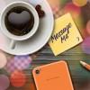 Romantic coffee theme vector background