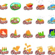 Link toVarious food design vector icons 01