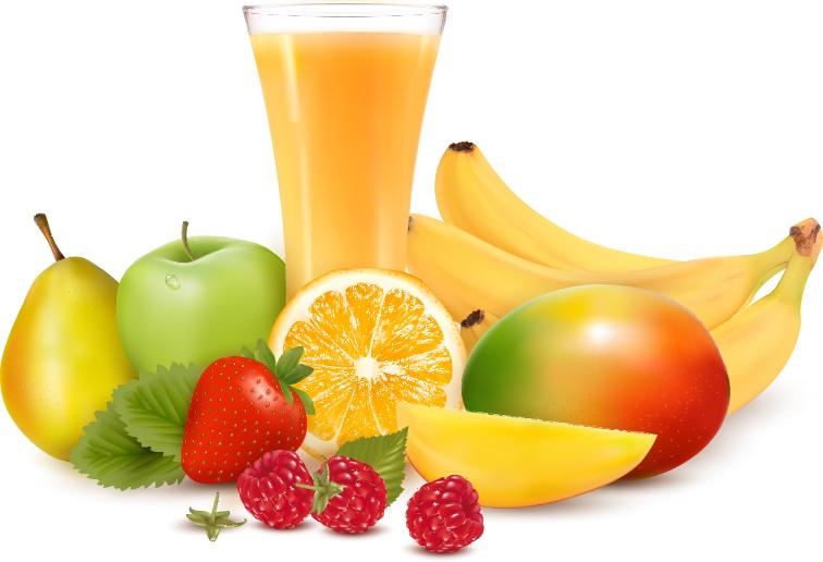 Vivid Fruits design vector graphics 02 - Vector Food free download