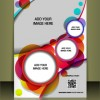 Business style brochure cover desing vector 01