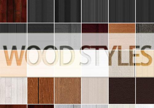 150 Kind wood style Photoshop Patterns