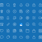 Link to45 kind blue style icons