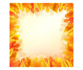 Beautiful autumn elements vector set 04