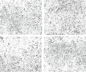 Black and white grunge pattern vector 01