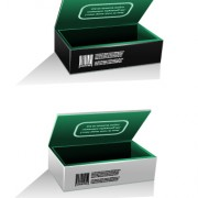 Link toBlank package box template design vector 04