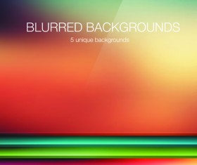 Colored blurred vector background art 02