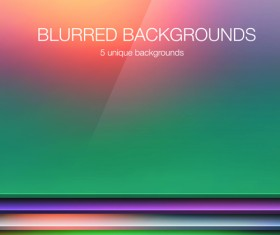 Colored blurred vector background art 03