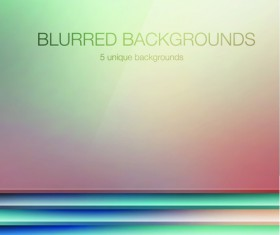 Colored blurred vector background art 04
