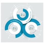 Link toBusiness infographic creative design 909
