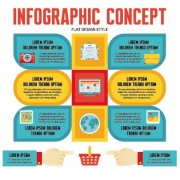 Link toBusiness infographic creative design 914