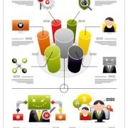 Link toBusiness infographic creative design 946