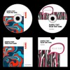 Abstract colored DVD and CD disk packing cover vector 05