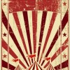 Vintage circus background vector graphic 03