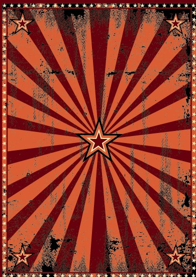 Vintage Circus Poster Background Vintage circus backgro...