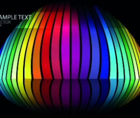 Colorful abstract design elements background 04