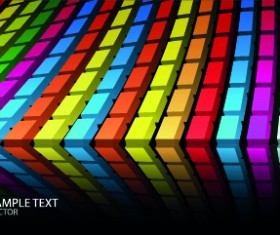 Colorful abstract design elements background 05