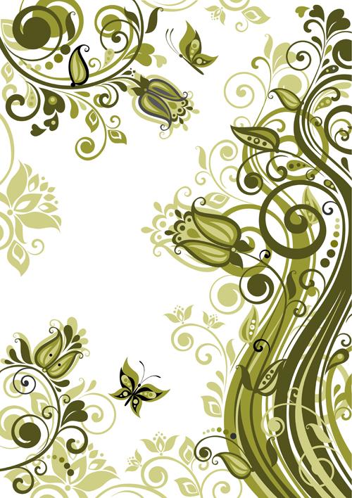 elegant green backgrounds - photo #44