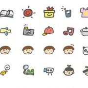 Link toHand drawn cartoon cute icons