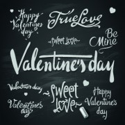 Link toHappy valentines day text elements vector 02