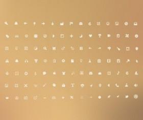 Mini UI psd web icons