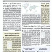 Link toCreative newspaper design elements vector set 02