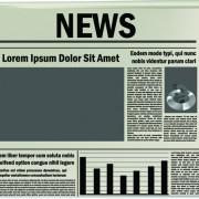 Link toCreative newspaper design elements vector set 03
