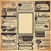 Link toCreative newspaper design elements vector set 04