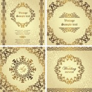 Link toOrnate golden invitations design 03