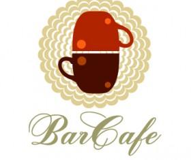 Restaurant logos design elements vectors set 04