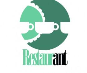 Restaurant logos design elements vectors set 05