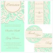 Link toRetro wedding invitation cards design 01