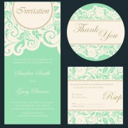 Link toRetro wedding invitation cards design 02