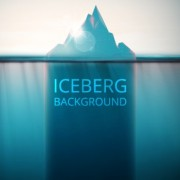 Link toShiny iceberg background vector graphic