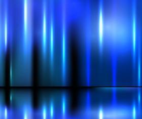 Shiny blue object background art