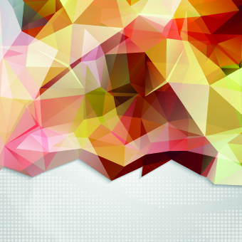 Shiny geometry concept vector background – Over millions vectors ...