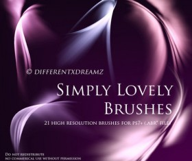 Simply Lovely Photoshop Brushes