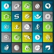 Link toSports paper icons vector set 01