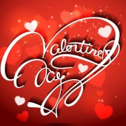 Link toValentine day red style background vector 01
