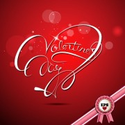 Link toValentine day red style background vector 02