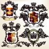 Vintage Royal Badge design vector