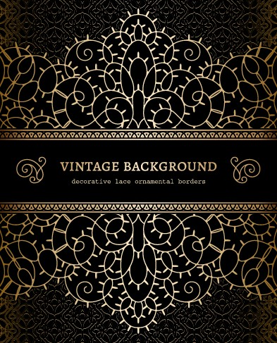 vector set of vintage luxury background design 04 over millions vectors stock photos hd. Black Bedroom Furniture Sets. Home Design Ideas